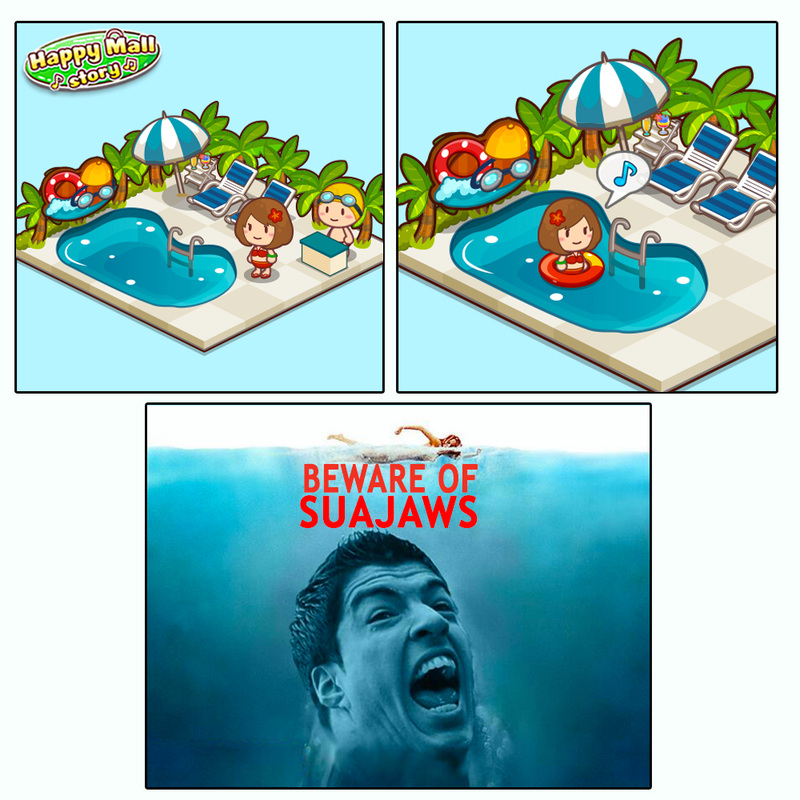 Happy Mall Story Suarez Comic