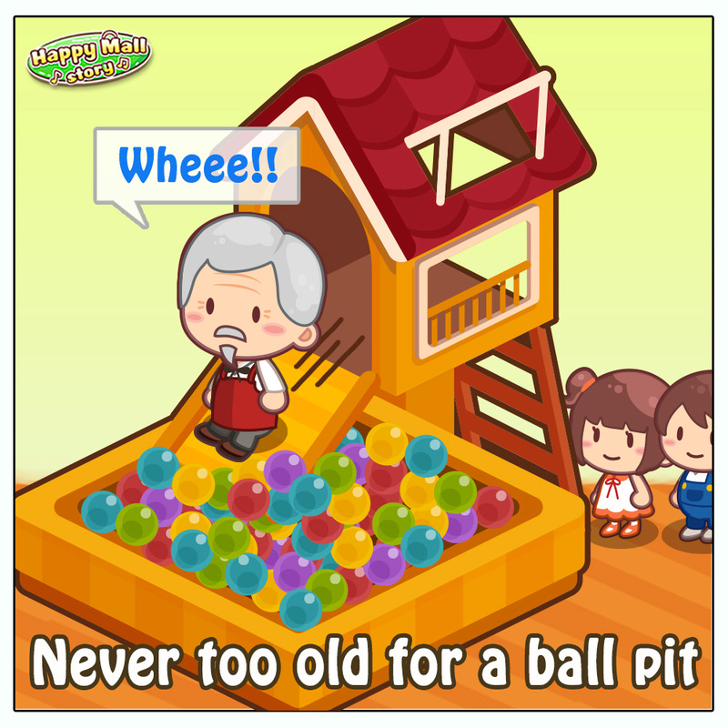 Happy Mall Story Ball Pit Comic