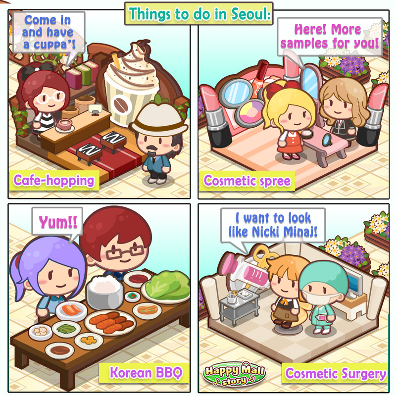 Happy Mall Story Korea Comic