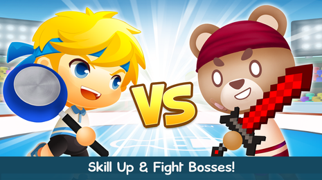 Increase your skill level and fight with special NPCs!