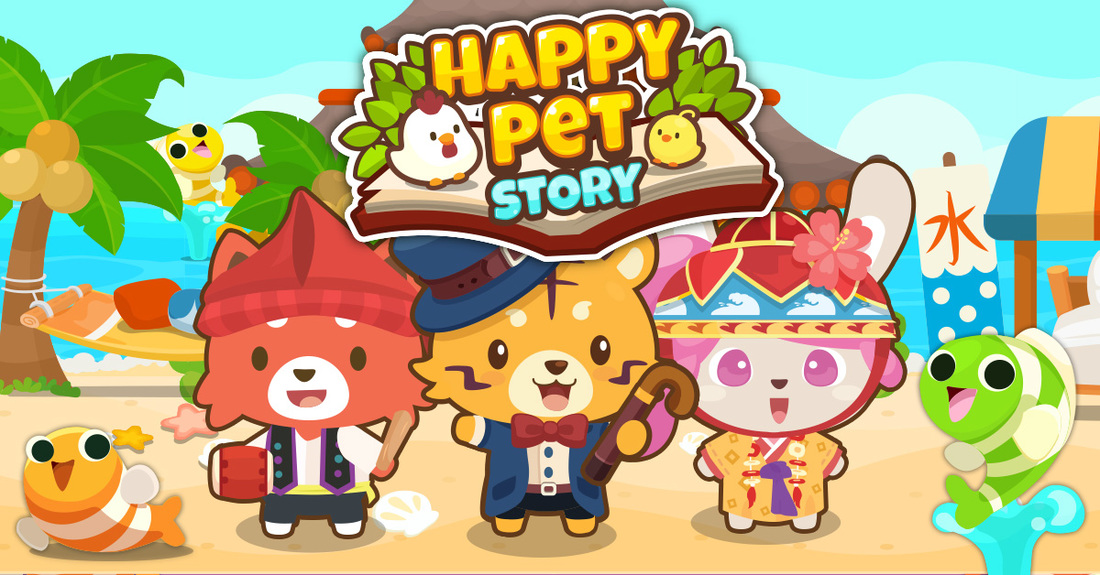 Happy Pet Story Summer Theme
