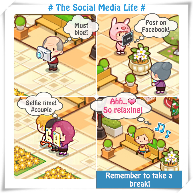 Happy Mall Story Social Media Life