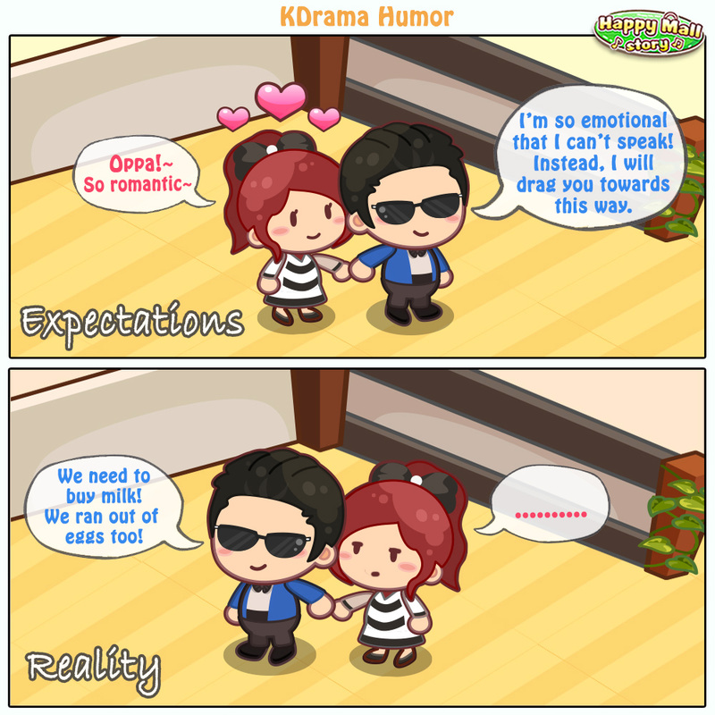 Happy Mall Story Kdrama Comic