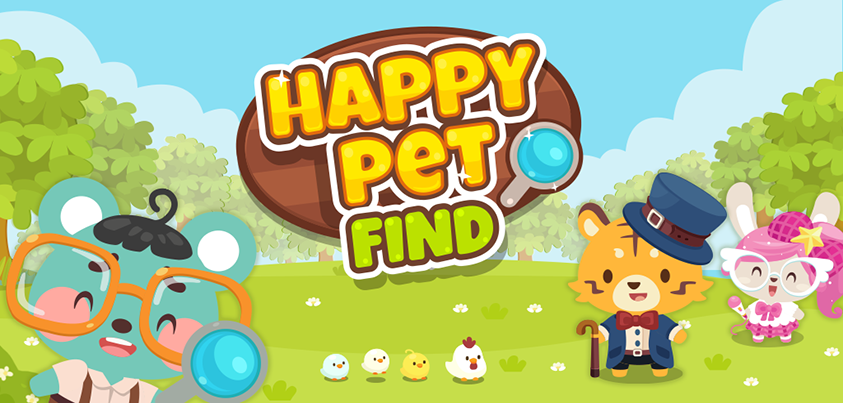 Happy Pet Find Available on iOS App Store and Google Play
