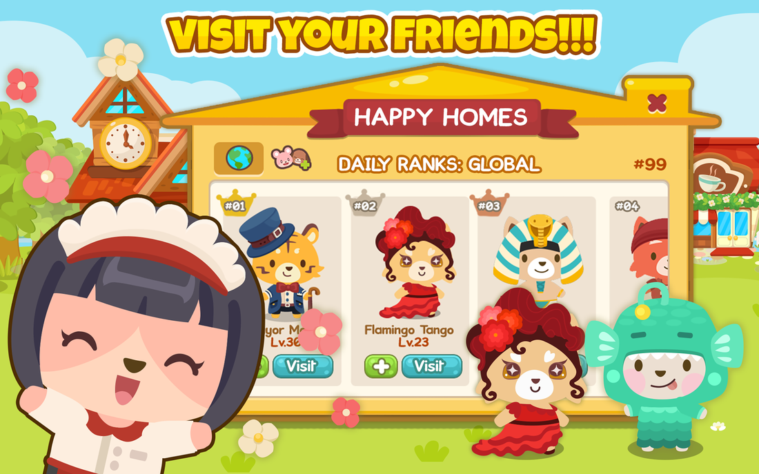 Happy Pet Story Screen shot 3